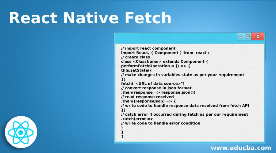 React Native Fetch