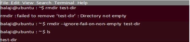 Remove Dir Linux2