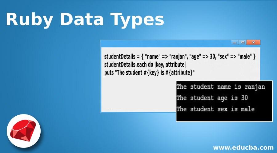 Ruby Data Types