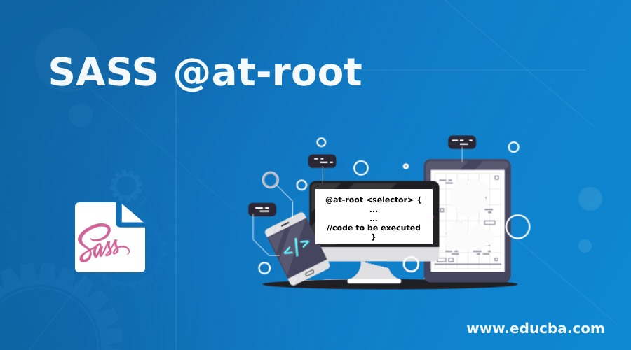 SASS @at-root