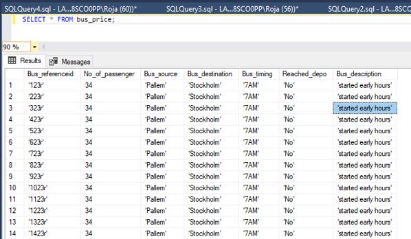 SQL Bulk Insert - 3
