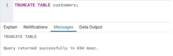 SQL TRUNCATE() output 2