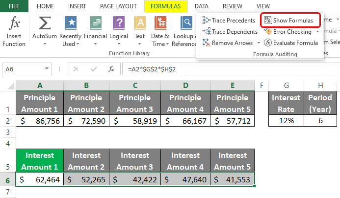 Auditing Tools in Excel 4-1