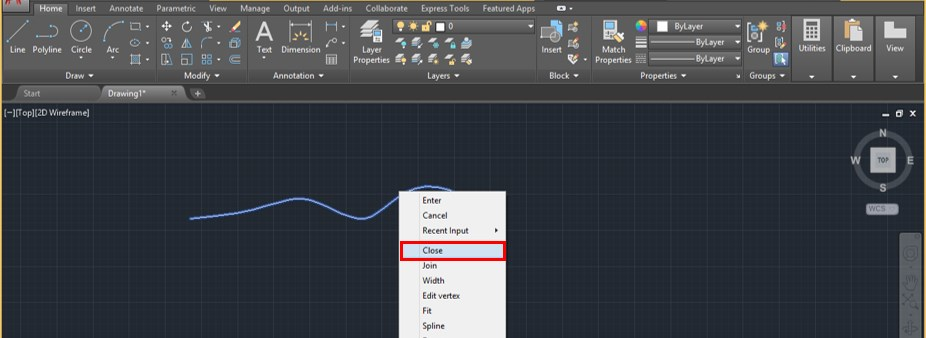 Spline in AutoCAD - 17