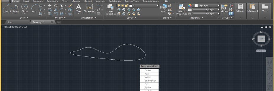 Spline in AutoCAD - 18
