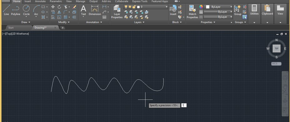 Spline in AutoCAD - 20