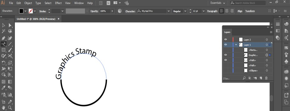 Stamp Effect in Illustrator - 16
