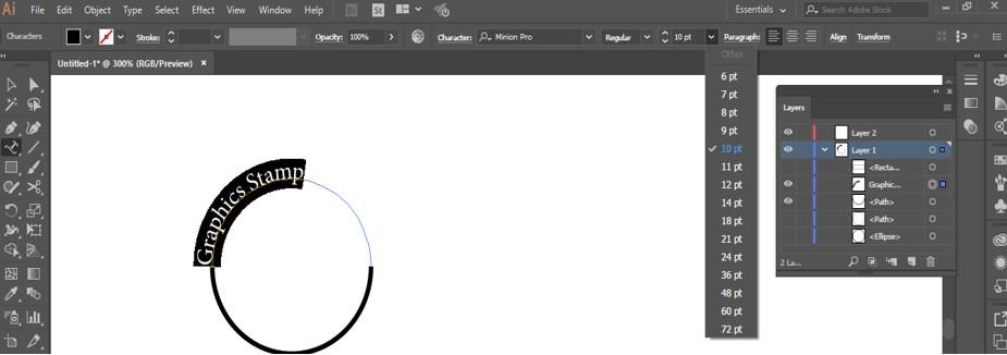 Stamp Effect in Illustrator - 18