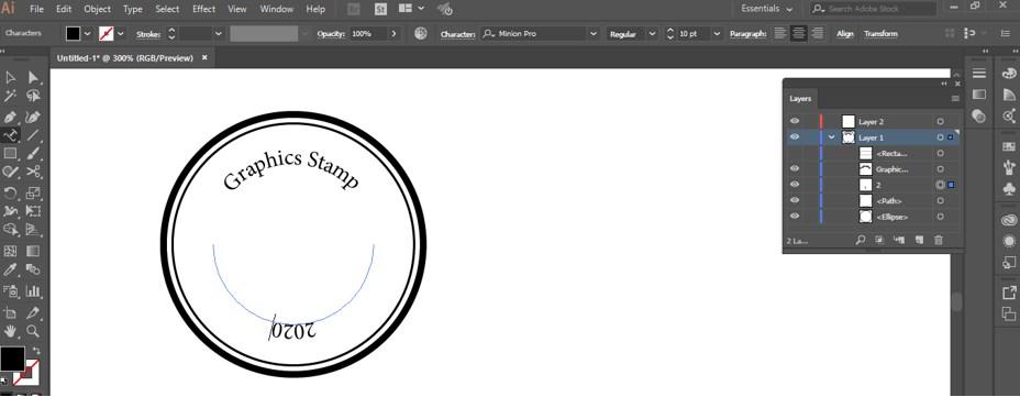 Stamp Effect in Illustrator - 21