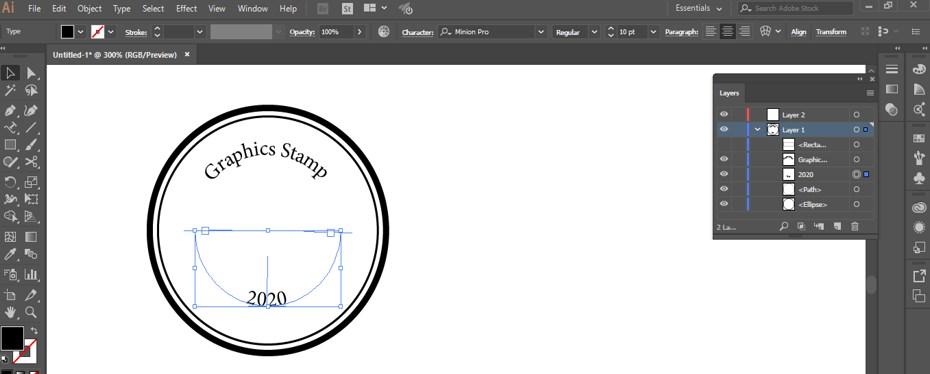 Stamp Effect in Illustrator - 22