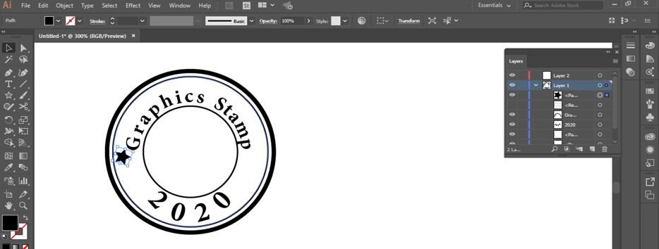 Stamp Effect in Illustrator - 25