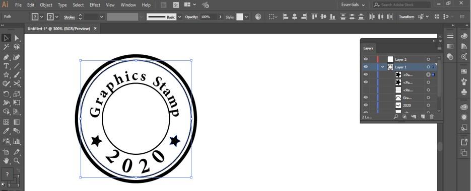 Stamp Effect in Illustrator - 26