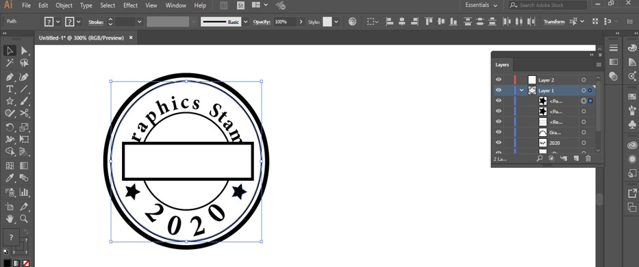 Stamp Effect in Illustrator - 27