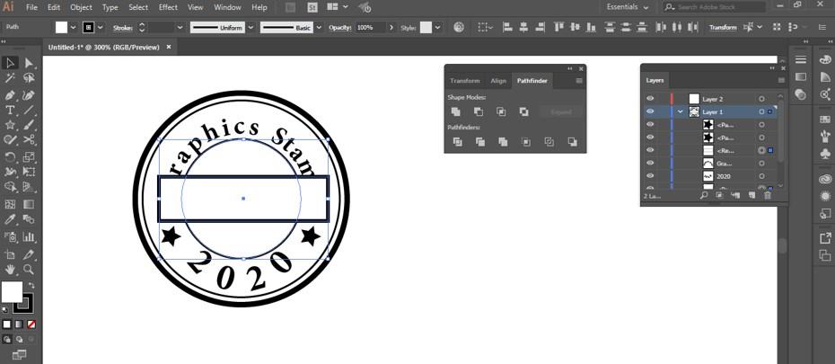 Stamp Effect in Illustrator - 28