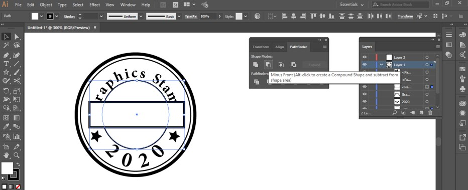 Stamp Effect in Illustrator - 29