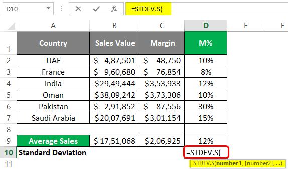 Standard deviation 3-1