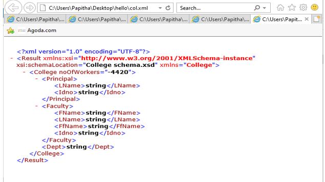 String in XML-1.2