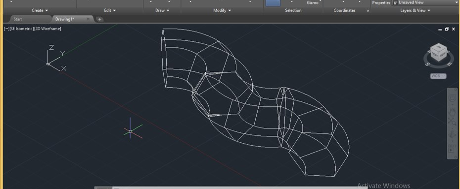 Sweep in AutoCAD - 16