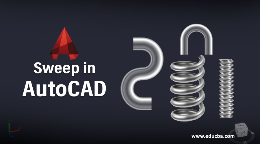 Sweep in AutoCAD