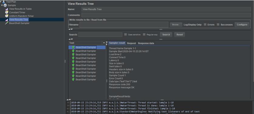 Timers in JMeter-1.3