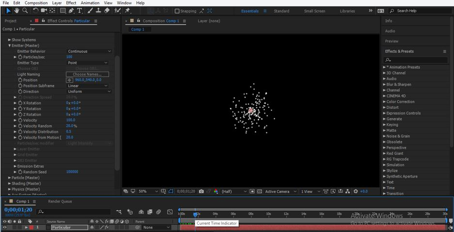 Trapcode in After Effects - 12