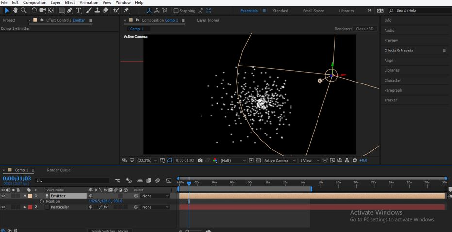 Trapcode in After Effects - 22