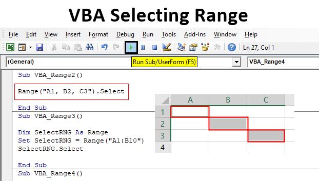 VBA Selecting Range
