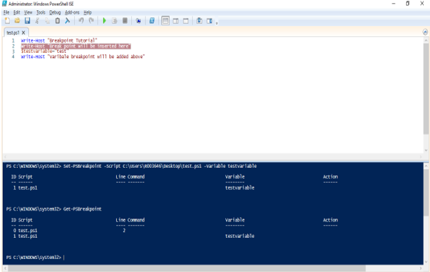 Windows PowerShell ISE - 1