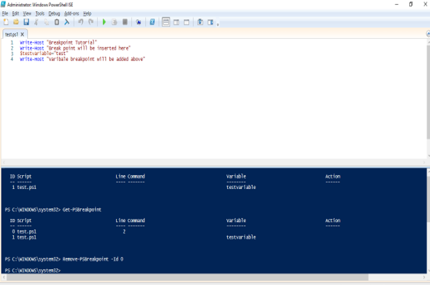 Windows PowerShell ISE - 2