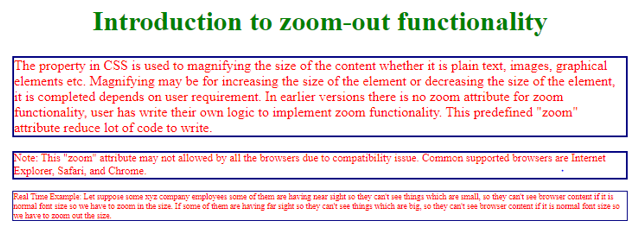 css zoom output 2