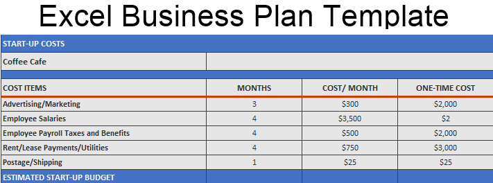 Excel Business Plan Template How To Create A Business Plan Template