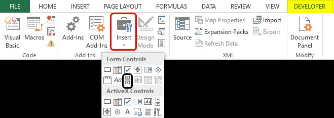 insert -developer