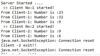 java ServerSocket 3