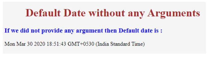 javascript date object 1