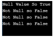 php is_null() 1