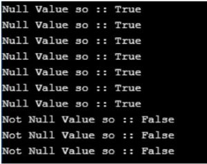 check whether the variable parameter of the function is TRUE or NOT