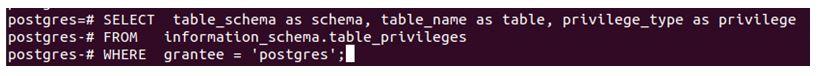 postgreSQL GRANT 2