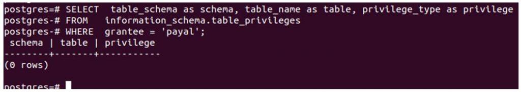 postgreSQL GRANT 4
