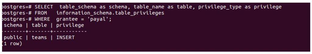 postgreSQL GRANT 6