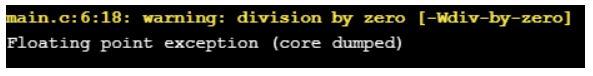 programming errors in c2