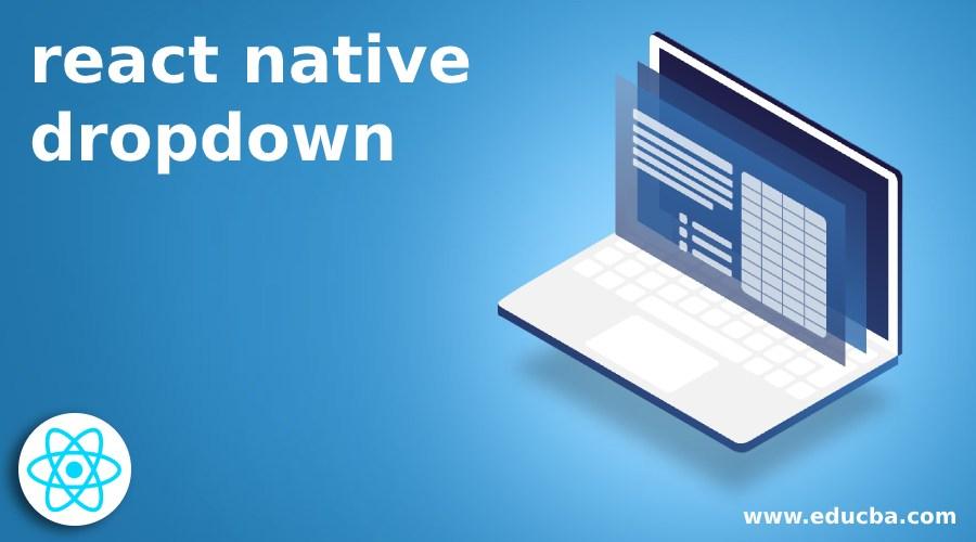 react native dropdown