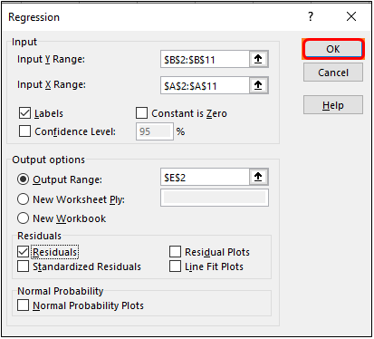 regression analysis 4-5