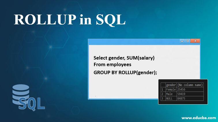 rollup in sql