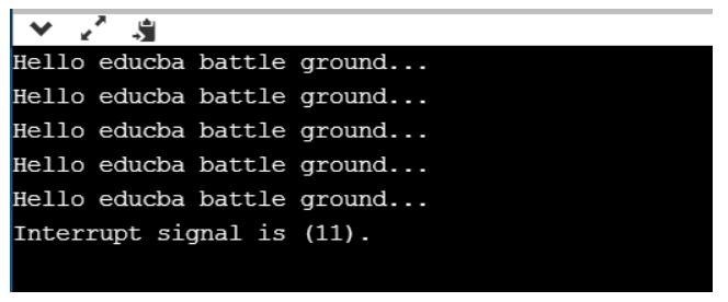 signal in c++ 7