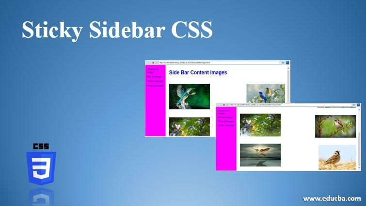 Sticky Slidebar CSS