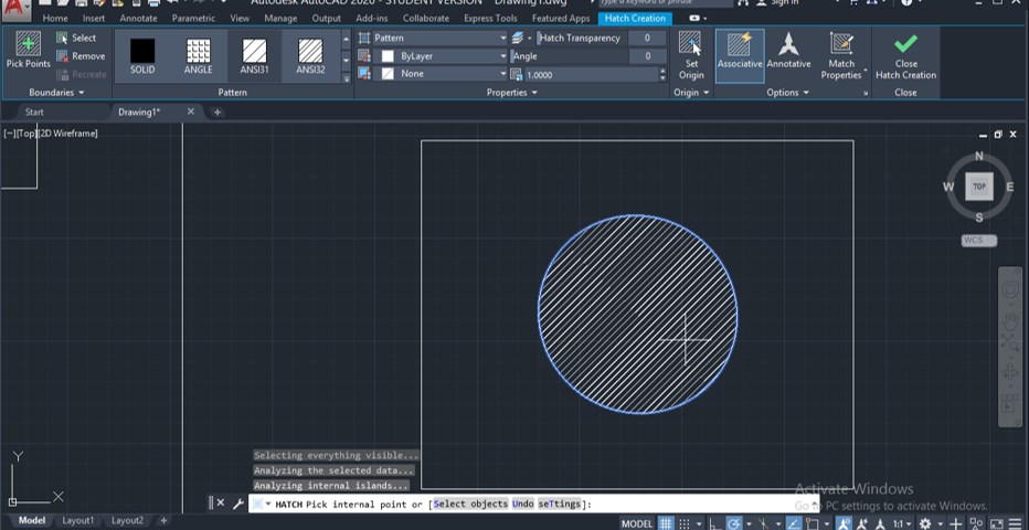 2D Command in AutoCAD - 13
