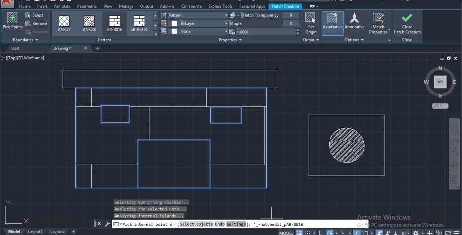 2D Command in AutoCAD - 14