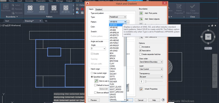 2D Command in AutoCAD - 15