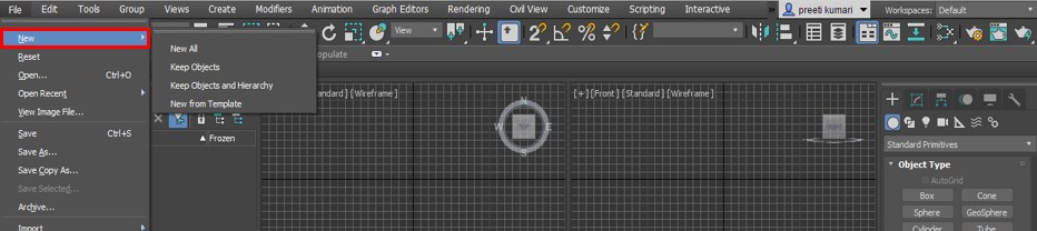 3ds Max Interface - 18