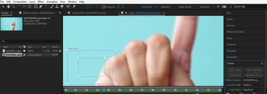After Effects Tracking - 10